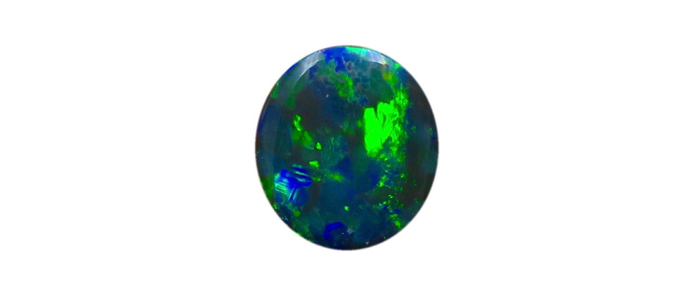 1.98 ct Roval Blue Green Oval