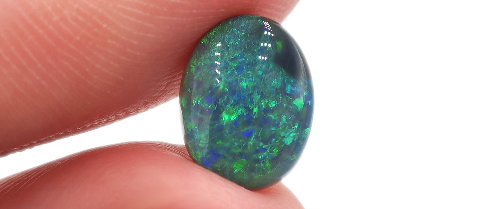 1.97 ct Black Opal | 9.9 x 7.8 mm