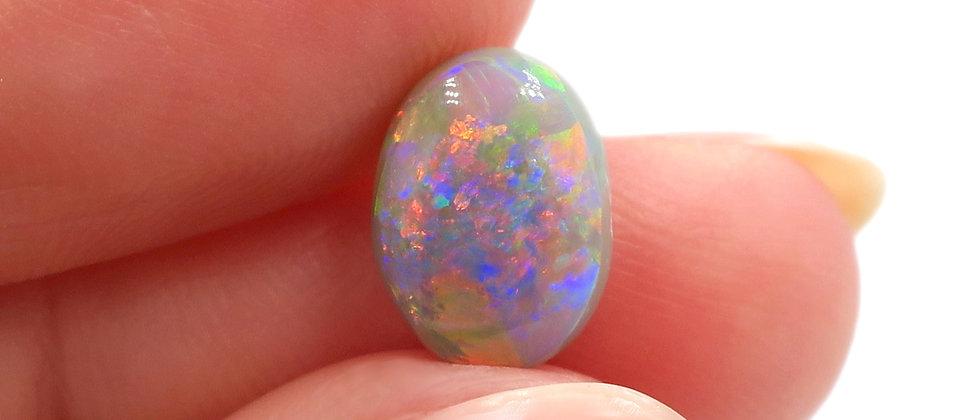 1.43 ct Semi-Black Opal | 9.2 x 6.8 mm