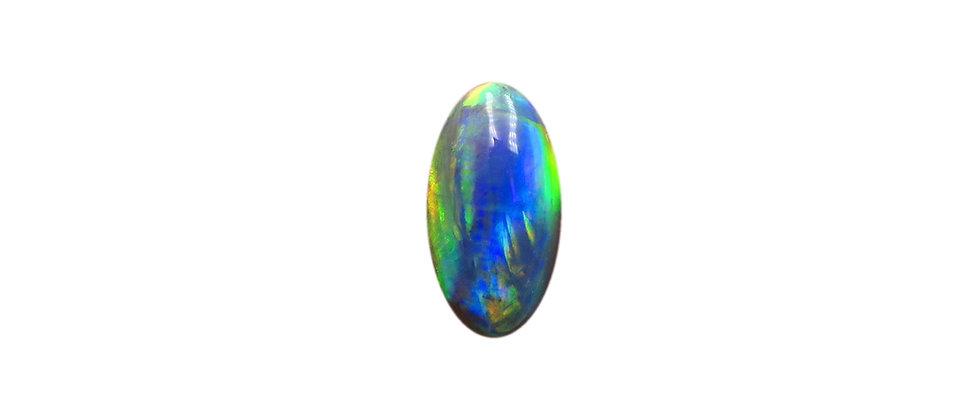 1.57 ct Dark Opal   10.5 x 5.7 mm
