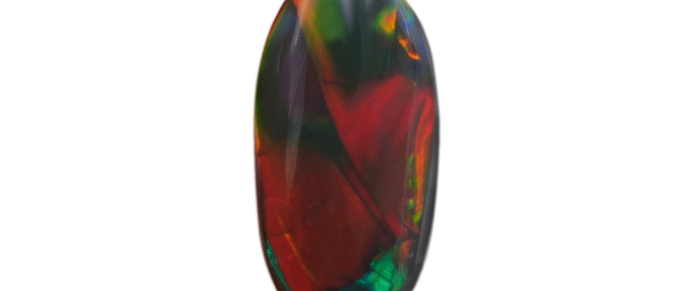 5.15 ct Black Opal | 17.75 x 9mm