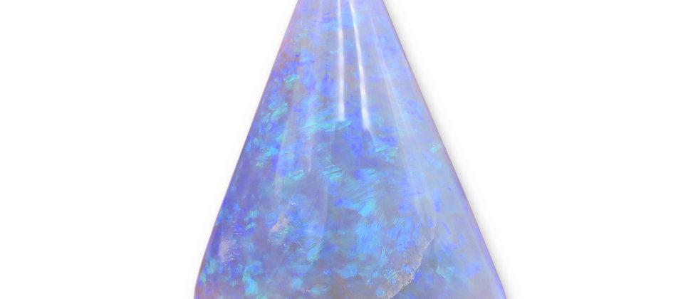 40.35 ct Dark Crystal Opal | 34 x 23.4 mm