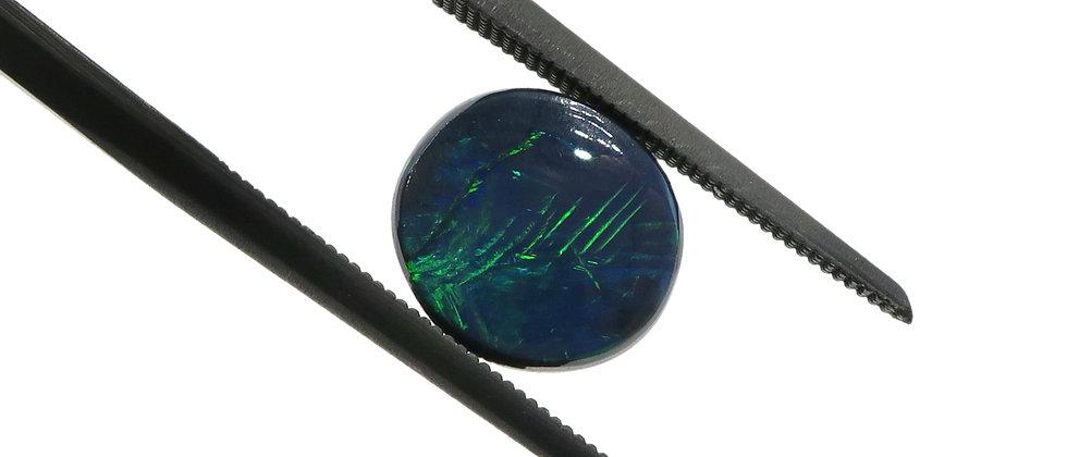 1.63 ct Black Opal | 8.3 x 7.5 mm