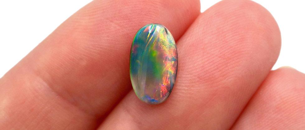 1.11 ct Dark Opal | 10.7 x 6.4 mm