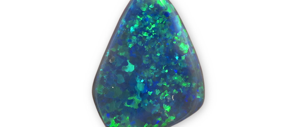 9.99 ct Free-Form Black Opal | 23.8 x 16.9 mm