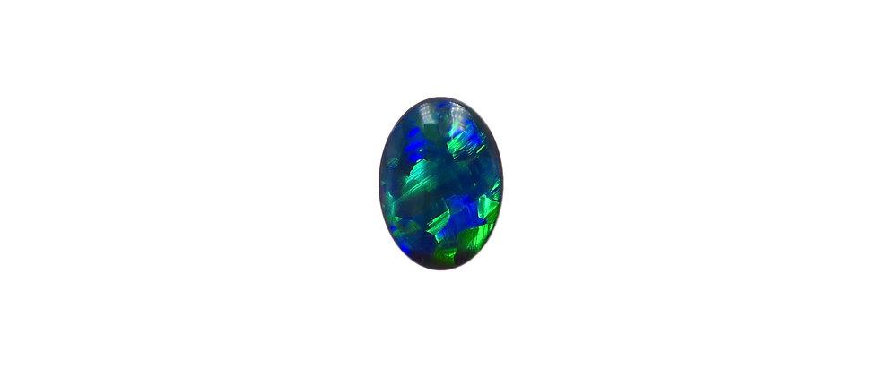 0.46 ct Black Opal | 6.85 x 5 mm