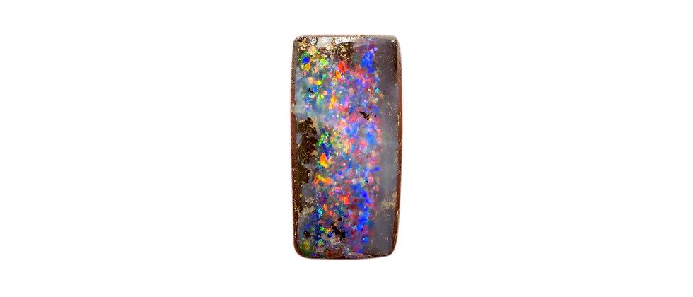 6.82 ct Rainbow Boulder Opal