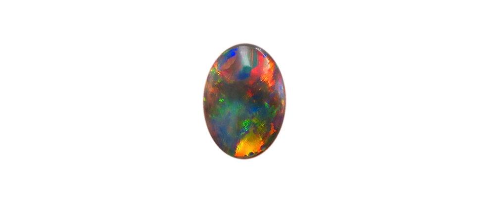 0.72 ct Dark Opal | 8.55 x 6.25 mm
