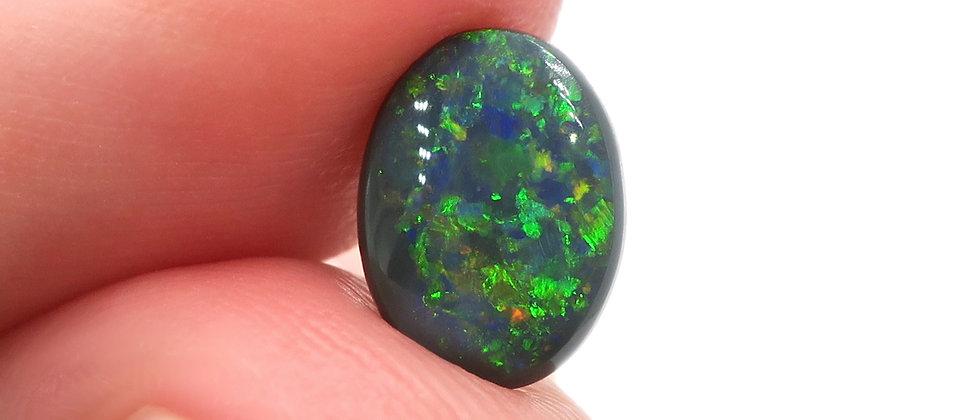 1.08 ct Black Opal | 8.7 x 6.5 mm