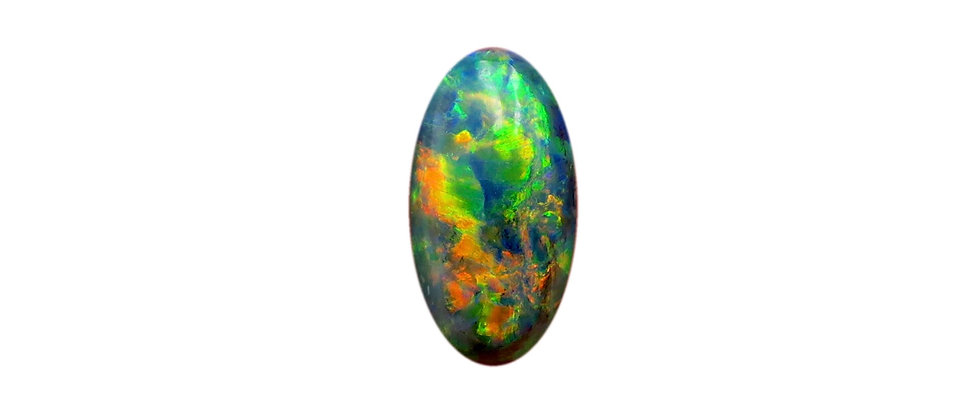 2.67 ct Black Opal | 12.46 x 6.53 mm
