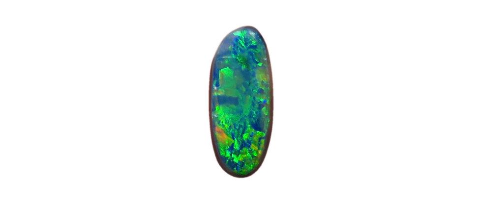 1.15 ct Black Opal | 11.11 x 4.75 mm