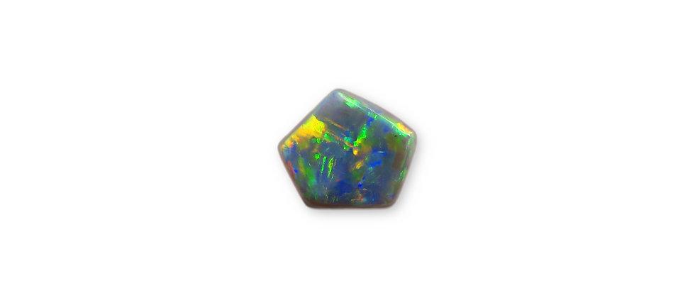 0.62 ct Black Opal | 7.6 x 6.8 mm