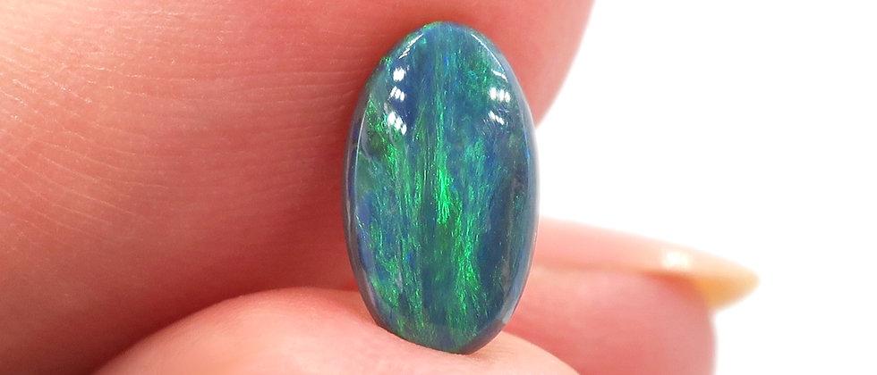 1.10 ct Black Opal | 9.5 x 5.5 mm