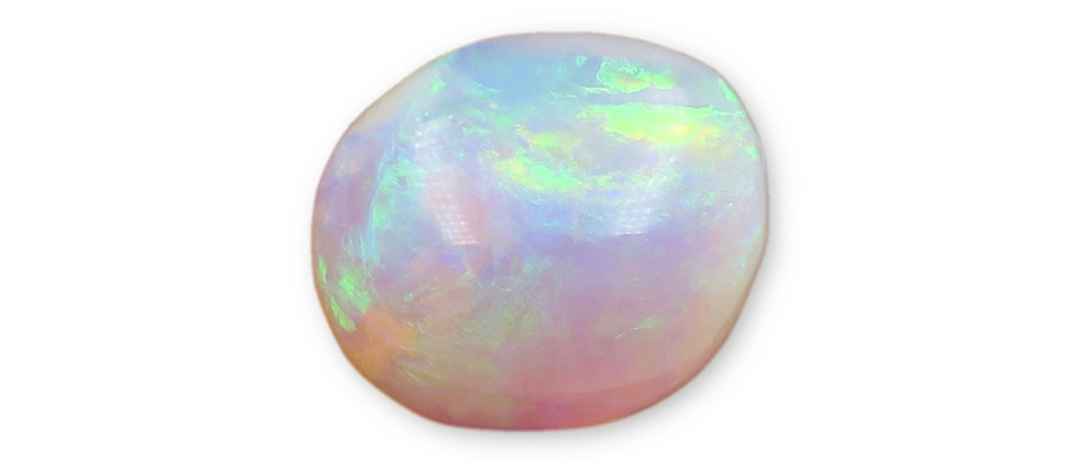 9.46 ct Free-Form Crystal Opal | 16.2 x 14.2 x 7.7 mm