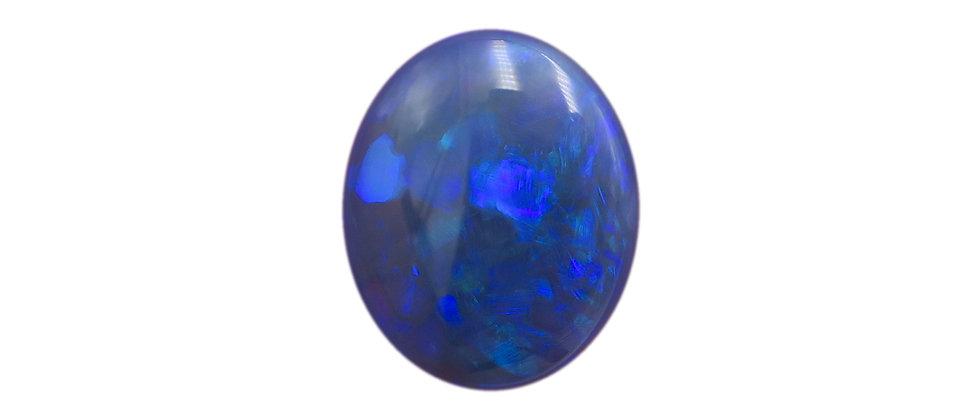 2.81 ct Black Opal | 11.5 x 9.5 mm