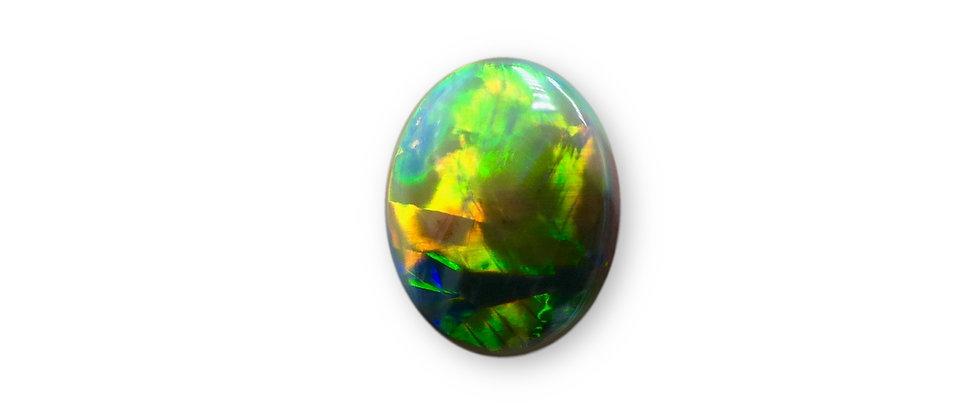 1.56 ct Oval Black Opal | 9.9 x 8 mm