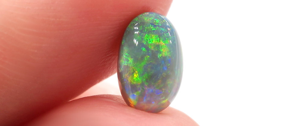 1.33 ct Black Opal | 8.6 x 5.5 mm