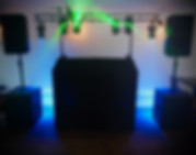 Mobile Wedding DJ Bristol Bath Somerset Max's Sentiet Jukebox Setup Sound and Lighting Traditional