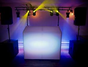 Mobile Wedding DJ Bristol Bath Somerset Max's Sentiet Jukebox Setup Sound and Lighting Traditional