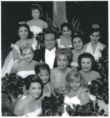 With Bob Hope & Joan Crawford presenting the Deb Stars 1962
