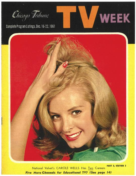 TV Week Cover 1961