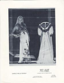 JUEL PARKS LINGERIE AD LA TIMES 1968
