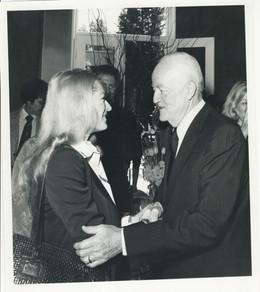 Carole & Vice President Hubert Humphrey 1976