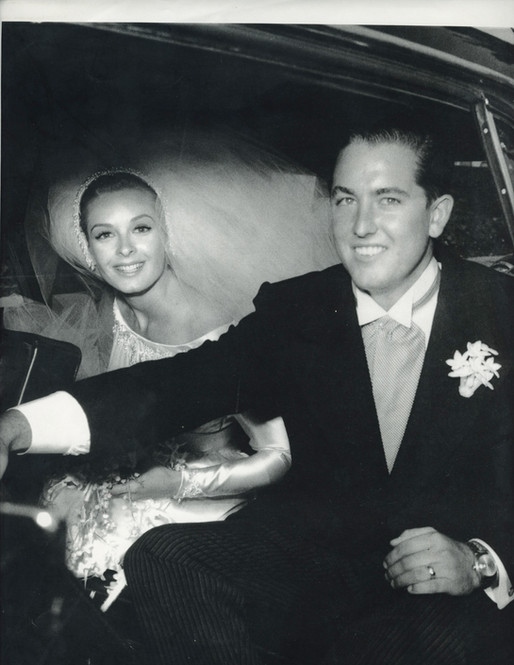 Carole & Larry Doheny on their Wedding Day 1963