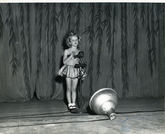 Singing & Dancing on stage at 3yrs old