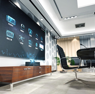 Customized office touch screen application