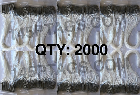 145PTAGS-TG/2000WC 2000ea145P Tags w/Waxed Cord