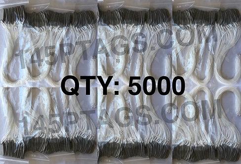 145PTAGS-TG/5000WC 5000ea145P Tags w/Waxed Cord