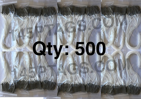 145PTAGS-TG/500WC 500ea145P Tags w/Waxed Cord
