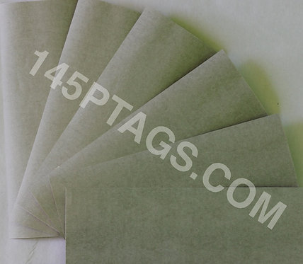 "5 Pc. Light Grey (LG) Fish Paper 0.010"" x 5"" x 8"""