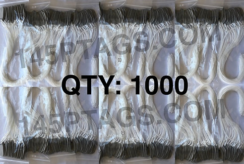 145PTAGS-TG/1000WC 1000ea145P Tags w/Waxed Cord