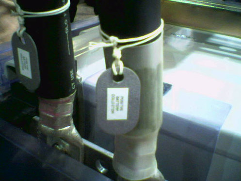 145P Tags with Lacing Cord
