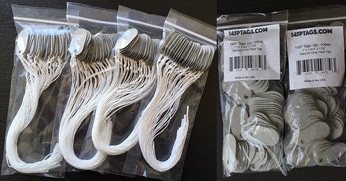 Sampler PROMO:2 bags 145P tags & 1 Bag(100) w/Cord