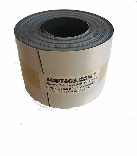 CGA100350FTD Adhesive Fish Paper Roll 3in. x 50ft.(Dark)