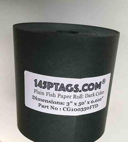 CG100350FTD Fish Paper Roll 3in. x 50ft.(Dark)