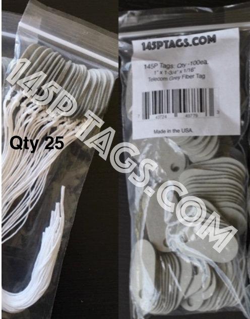 Sampler PROMO:1 bag 145Ptags(100)&1 Bag(25) w/Cord
