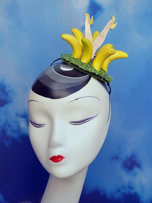 Josephine Baker Banana Skirt Fascinator
