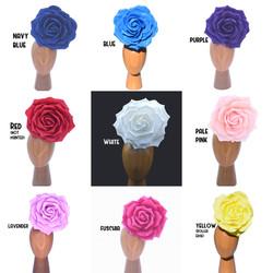 30cm Foam Rose Color Choices Floral Head