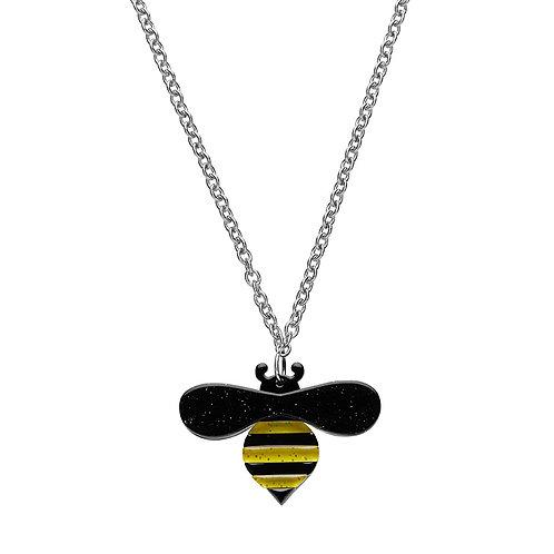 Babette Bee Pendant Necklace by Erstwilder | Bee