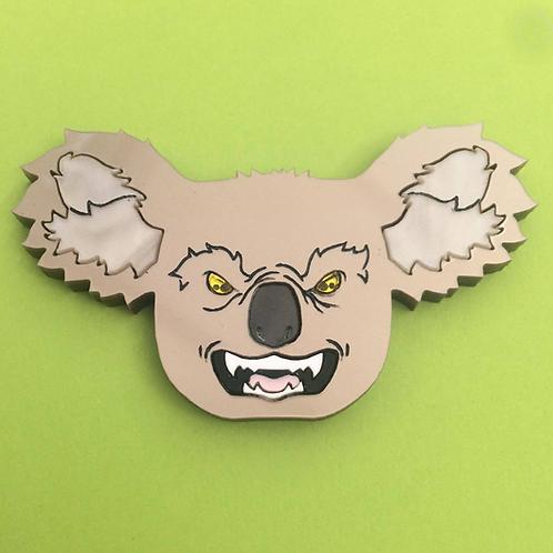 Drop Bear Koala Brooch by KimChi & Coconut