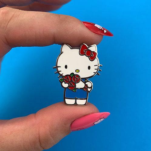 Hello Kitty Bouquet Enamel Pin by Erstwilder
