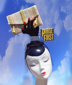 """""""Purse First"""" Hand Hat"""