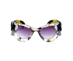 Yellow Toucan Sunglasses by Fab Hatters.