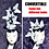 Thumbnail: The Effie - Convertible White & Black or Silver White Butterfly Fascinator Hat