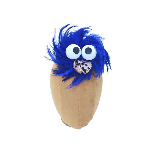 Blue Cookie Monster Costume Fascinator