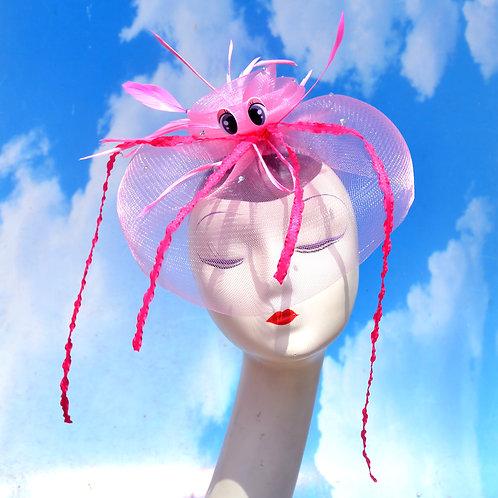 Pink or White Jellyfish Kuragehime Fascinator Veil Veiling